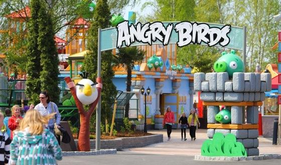 В Калининградской области построят парк развлечений Angry Birds