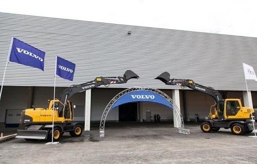 Volvo Construction Equipment открыла в России завод по производству экскаваторов