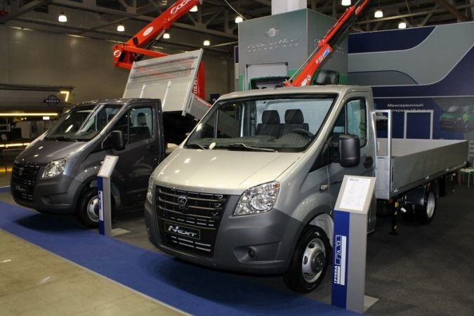 ГАЗ представил новую спецтехнику на базе ГАЗель NEXT