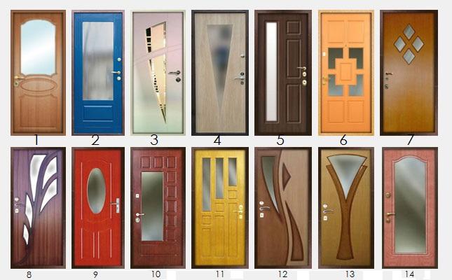входные двери с зеркалом внутри смотреть