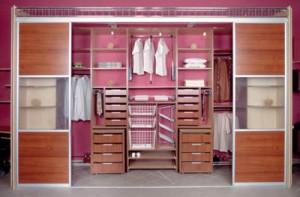 Корпусные гардеробные комнаты