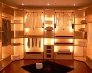Как создать уютную гардеробную?