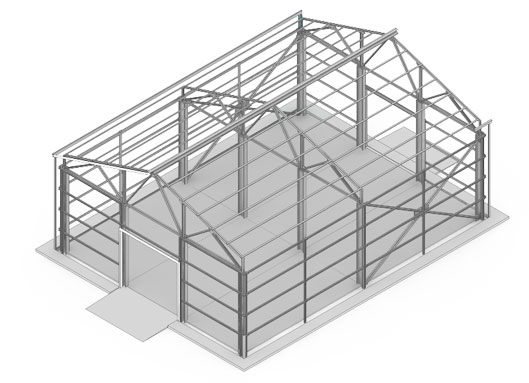 Самостоятельное строительство ангара