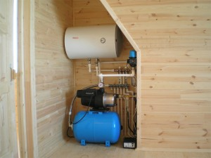 Монтаж системы отопления деревянного дома