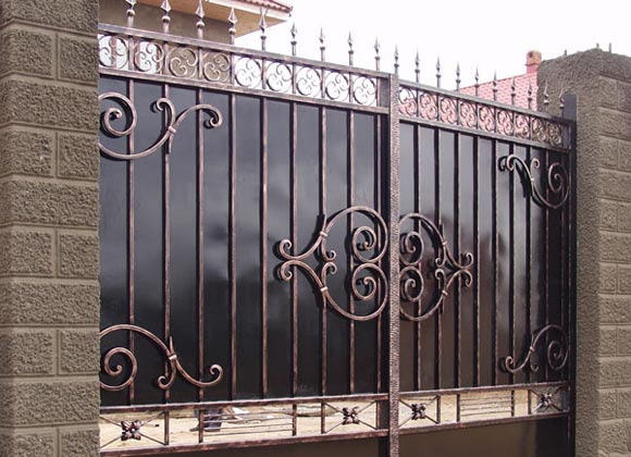 Какие кованые ворота можно заказать