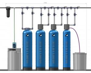 Системы водоочистки из скважины