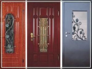 Уличные бронированные двери