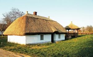 Строительство глиняного дома