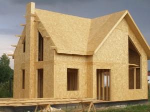 Строительство загородного дома из СИП панелей