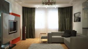 Ремонт и отделка трехкомнатной квартиры