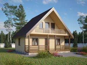 Каркасный дом – сегмент дешевого домостроения